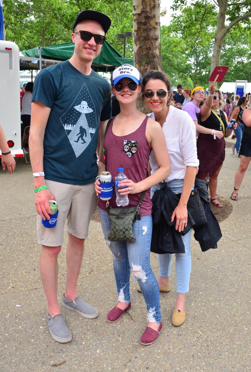 Chad Messer, Amber Messer, and Katie Kathman / Image: Leah Zipperstein, Cincinnati Refined // Published: 6.3.18