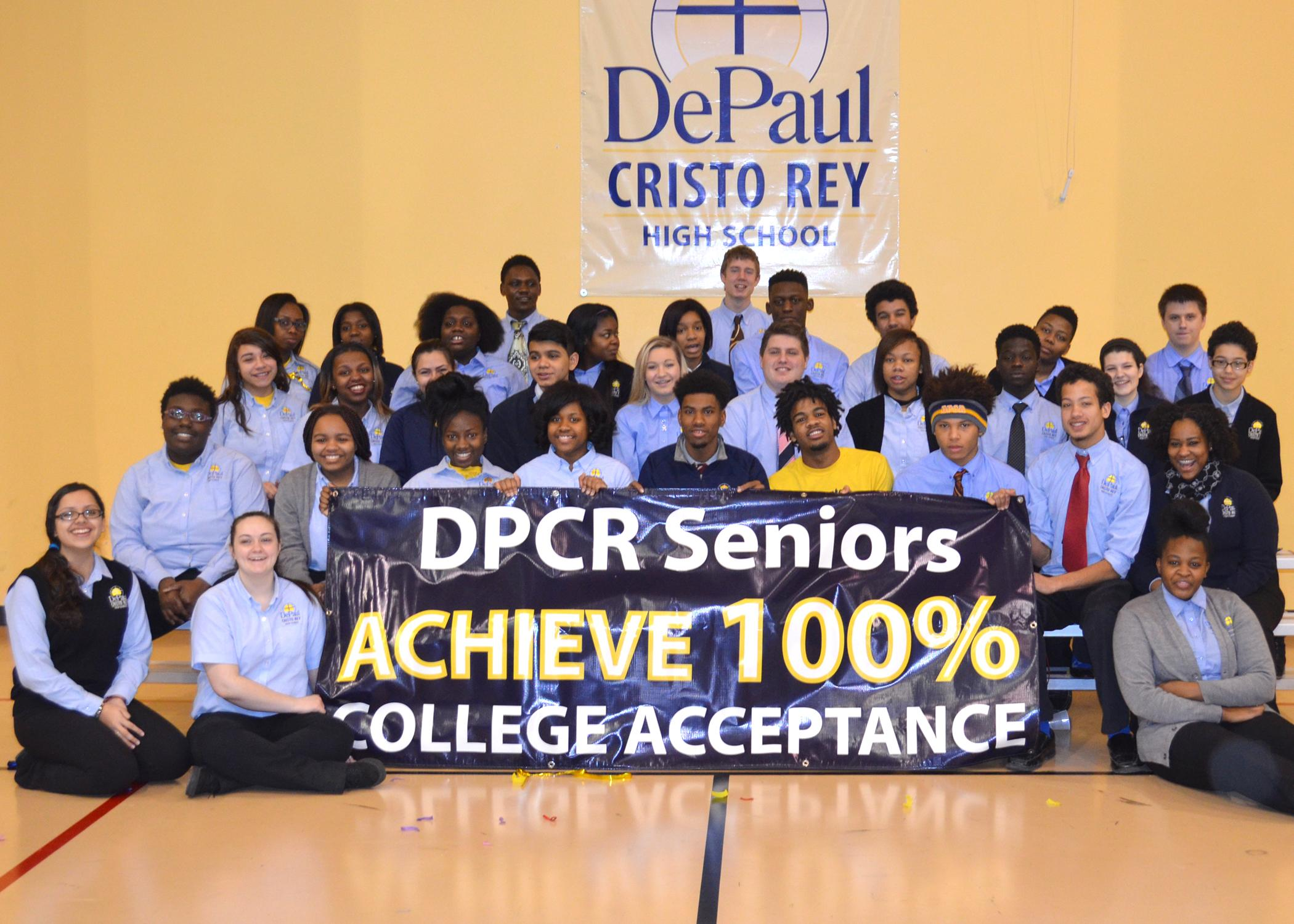 depaul cristo rey s seniors all accepted to colleges wkrc depaul cristo rey s seniors all accepted to college depaul cristo