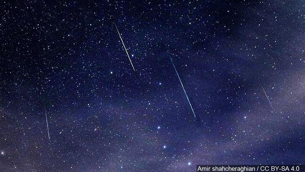 LOOK UP! Brightest meteor shower of the year happening now