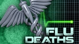 Woman in her 50s dies from flu-related illness