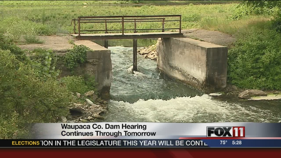 Future of Waupaca Co. dam being debated