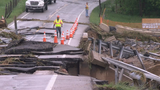 Washouts impacting travel in some parts of Frederick County