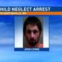 Father in custody after police find injured infant