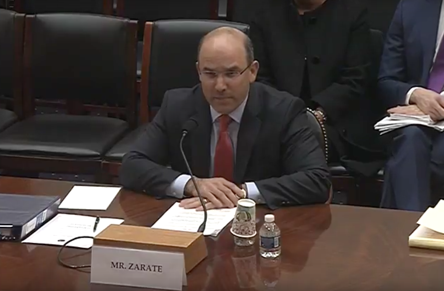 Juan C. Zarate Photo:  House Foreign Affairs Committee YouTube<p></p>