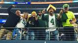 Look back on Rachel's trip to the Packers-Cowboys game on Instagram