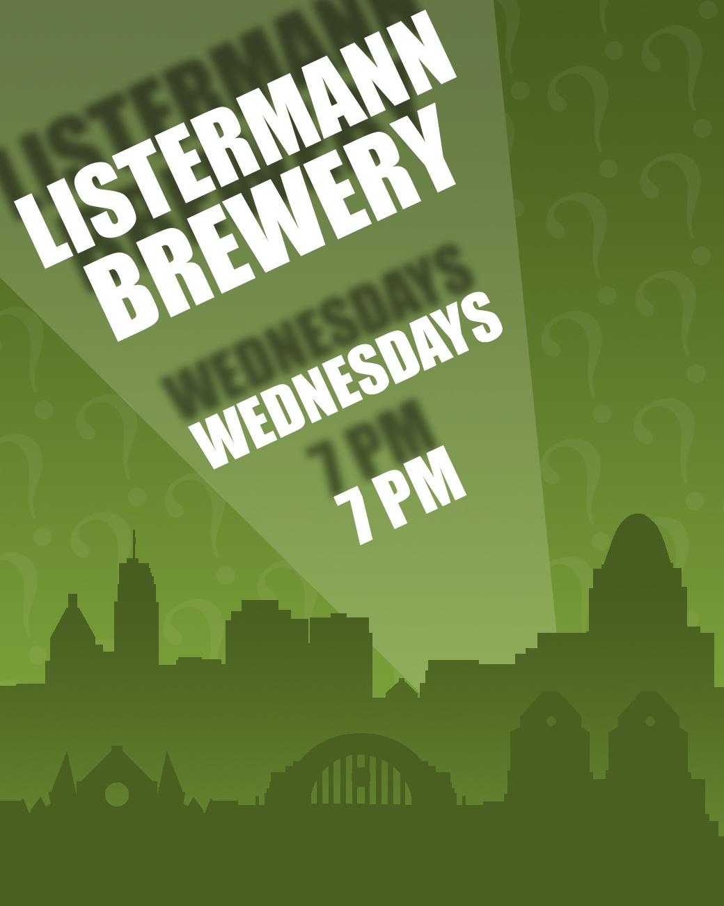 Listermann Brewing has trivia every Wednesday starting at 7 PM. ADDRESS: 1621 Dana Ave (45207) / Image: Phil Armstrong, Cincinnati Refined // Published: 8.30.17