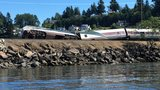 Amtrak train derails near Chambers Bay; several with minor injuries