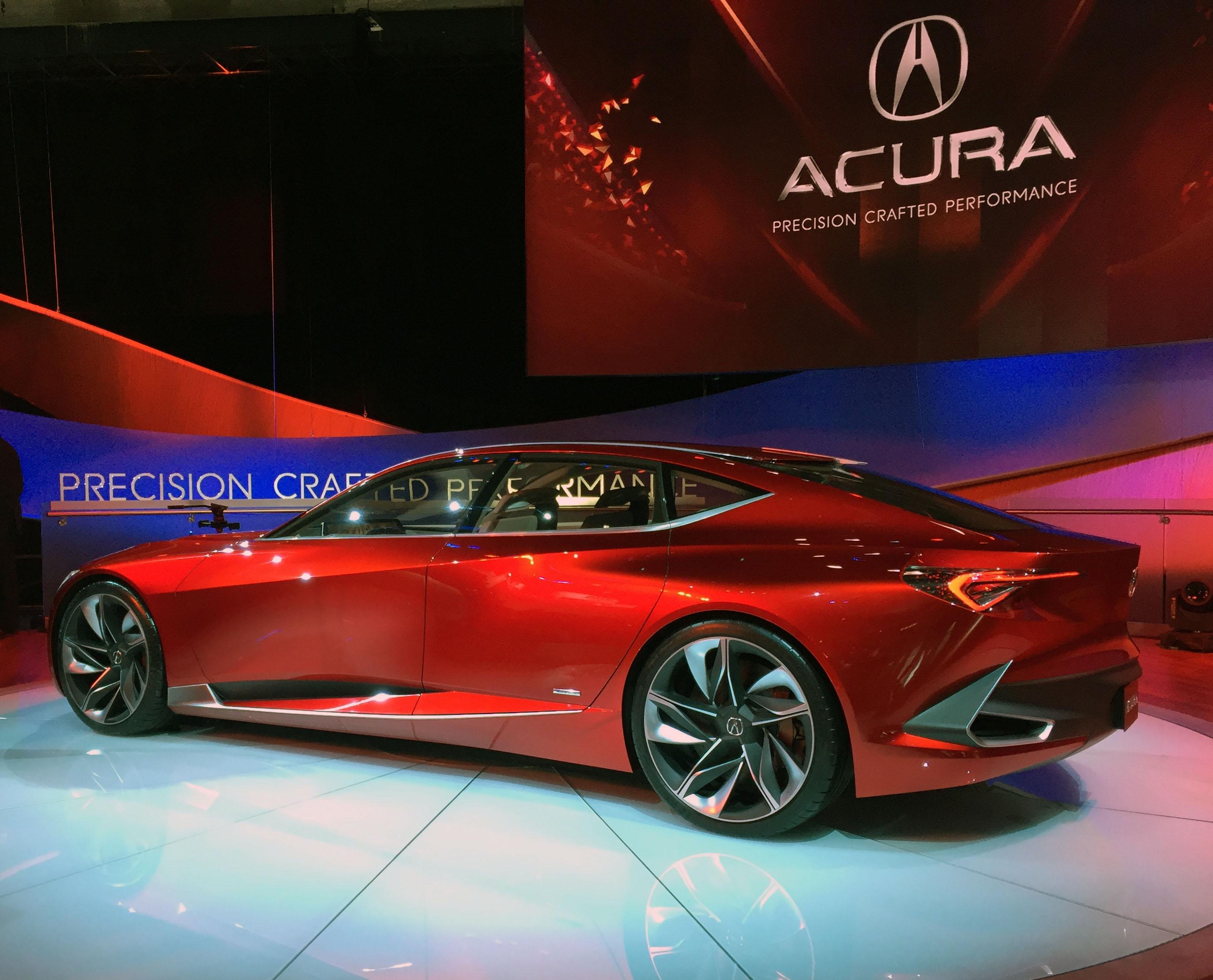 Acura Precision Concept (Photo by Jill Ciminillo)