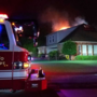 Fire Department: Lightning strike sparks fire at Owasso home