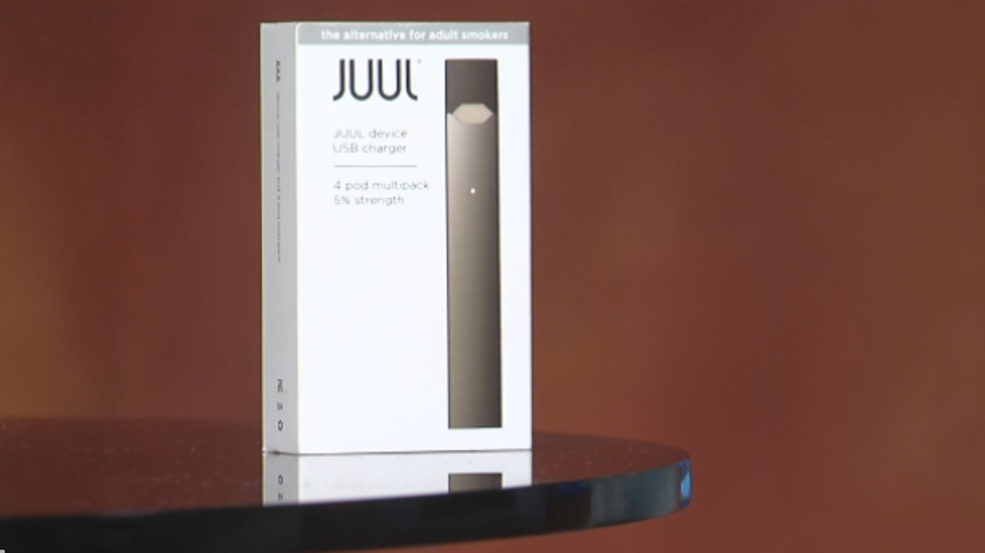 Poison center warns of JUUL use
