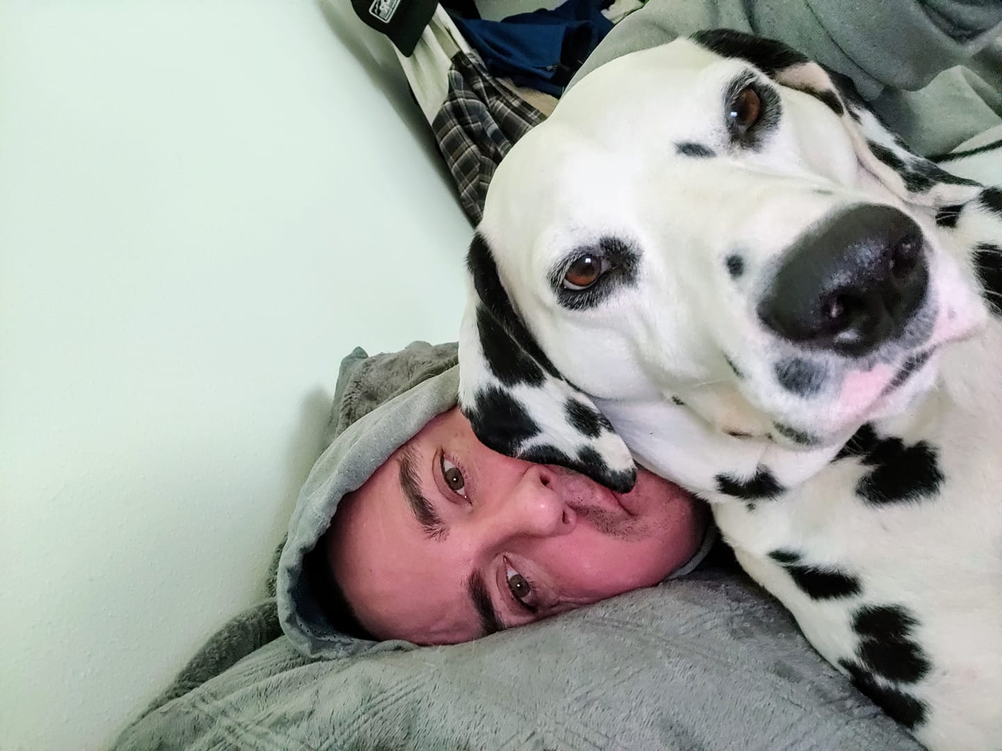 """My Dalmatian...Griffey""{ }Happy National Love Your Pet Day!   (Image: Chris Fogal)"