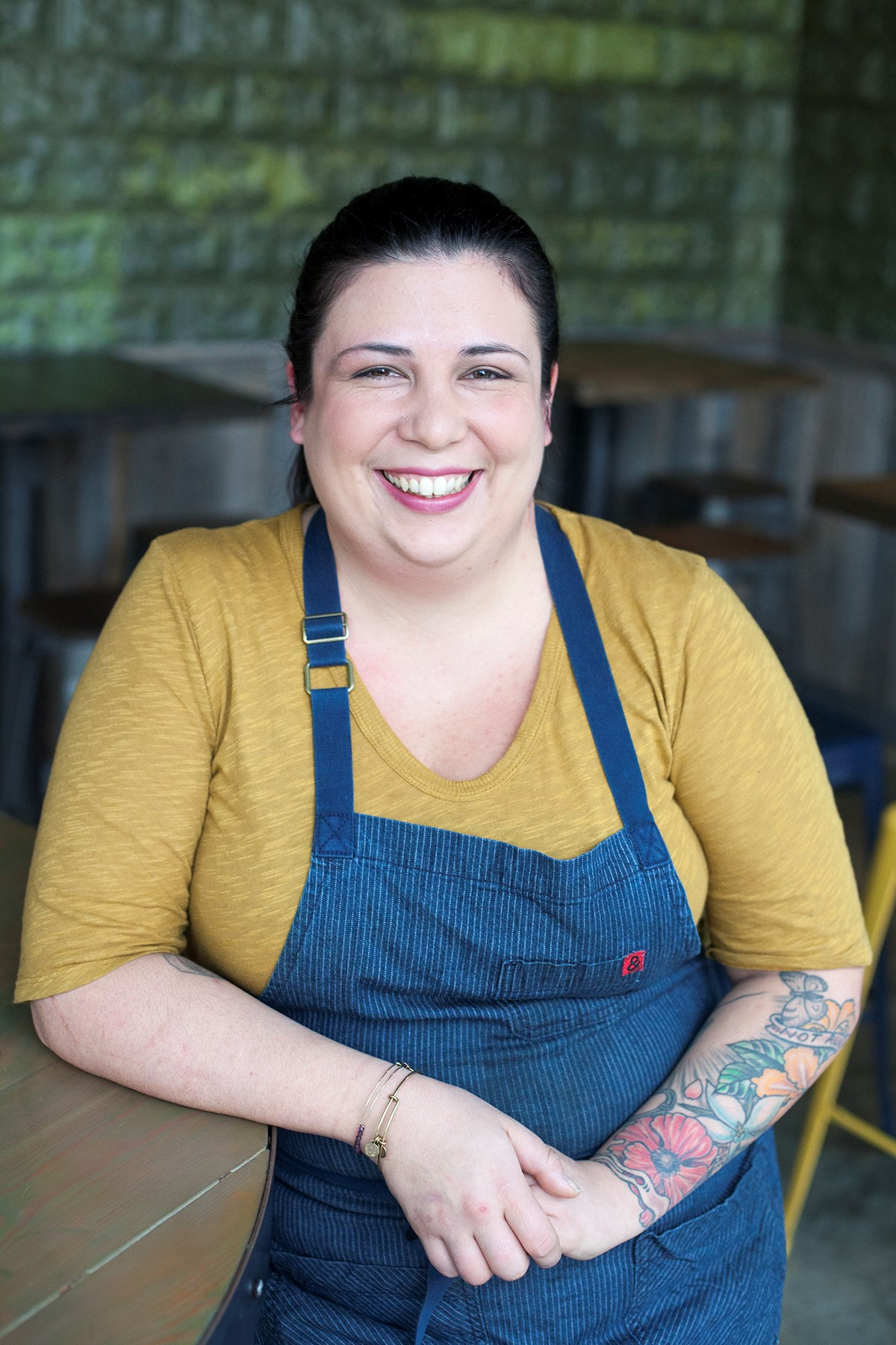 Marjorie Meek-Bradley  is a finalist for Chef of the Year. (Image: Courtesy St. Anselm)