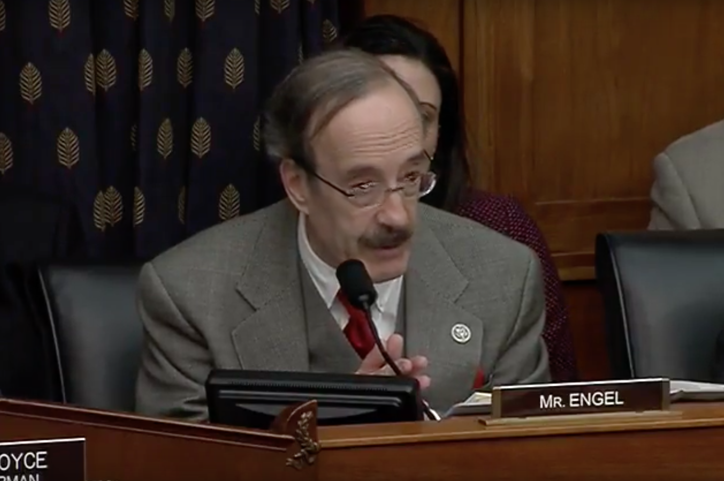 Ranking Member Eliot Engel Photo:  House Foreign Affairs Committee YouTube<p></p>