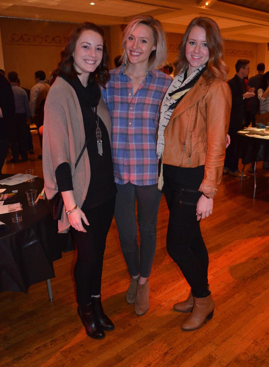 Shelby Willen, Allison Gathof, and Elaine Schomaker (Image: Leah Zipperstein / Cincinnati Refined)