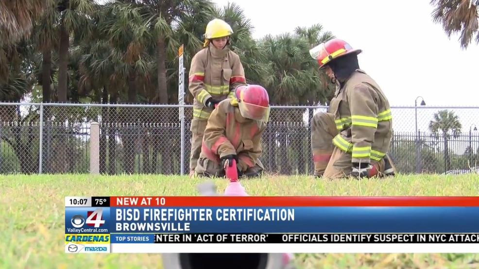 Brownsville ISD fire academy trains students for state certification ...