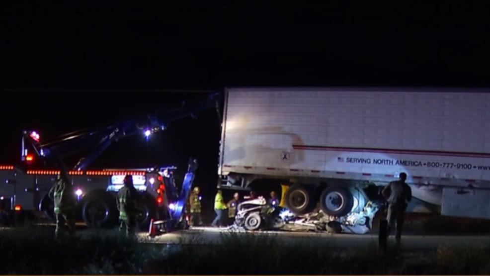 Four killed in northwest Bakersfield crash with big rig | KBAK