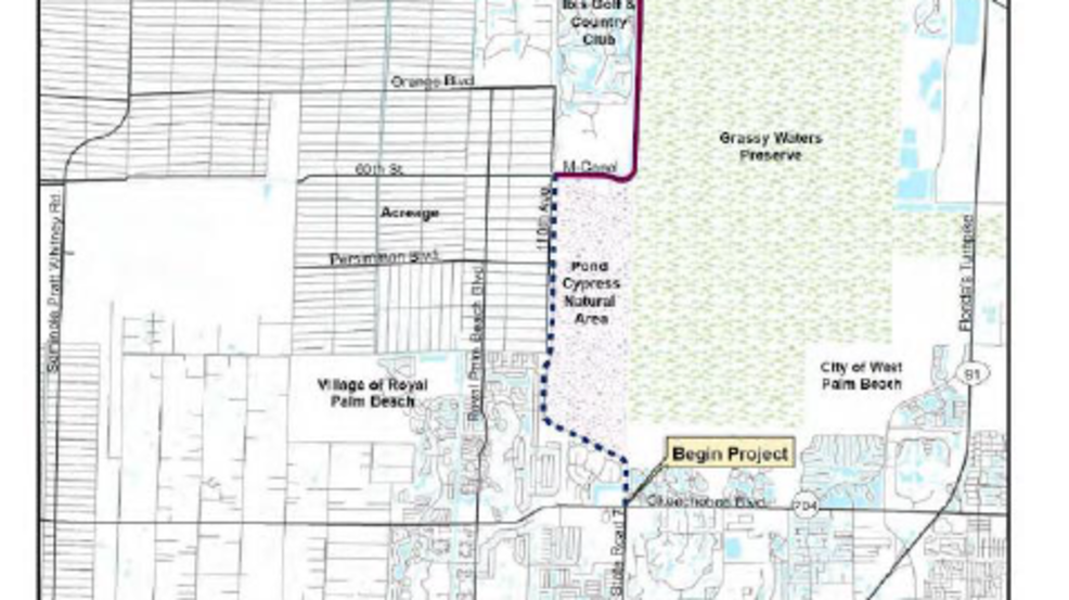 West Palm Beach sues to stop State Road 7 expansion WPEC