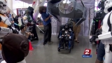 Group creates elaborate, custom Halloween costumes for children in wheelchairs
