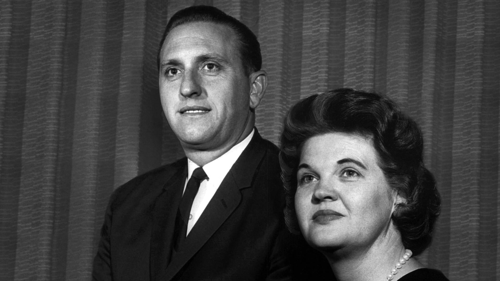 Thomas Monson and wife,{&amp;nbsp;}Francis. Monson was sustained to the Quorum of the Twelve Apostles at general conference on October 4, 1963. (Photo: MormonNewsroom.org)<p></p>
