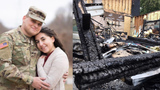 Maryland couple continue with wedding after escaping fire at bride's family home