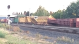 Train derails in Union Pacific Eugene Yard