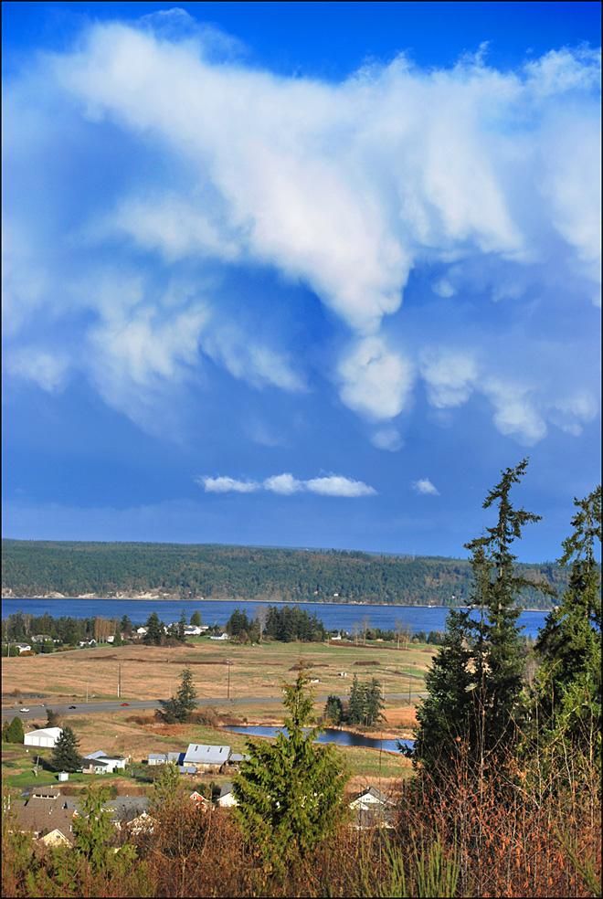 Cool clouds over West Sequim (Photo Courtesy YouNews contributor: patnmikes)