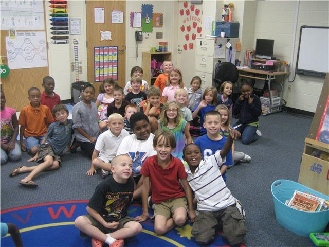Bethel-Hanberry Second Graders