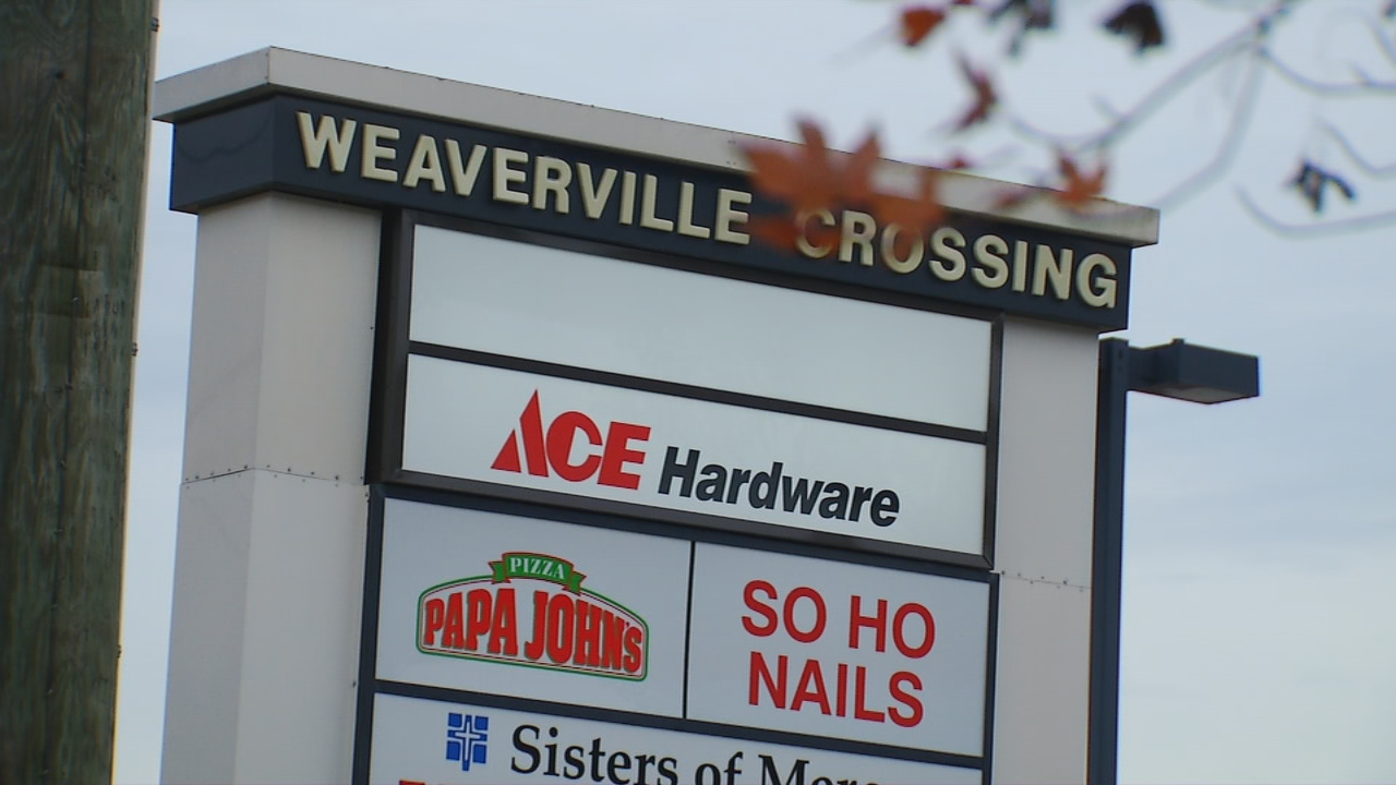"""Do you guys have any idea what they are building in Weaverville across from Ingles on Weaver Boulevard?"" Holli Holt wrote to Ask 13. (Photo credit: WLOS Staff)"