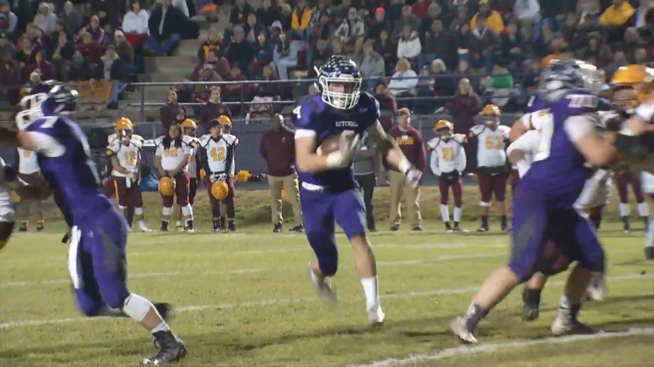 In 1A playoffs, No. 2 Cherokee stopped No. 1 Mitchell, 42-28. (Photo credit: WLOS staff)