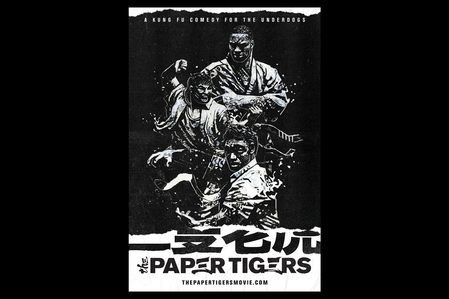 Yuji is a producer for The Paper Tigers Movie (Image: The Paper Tigers)