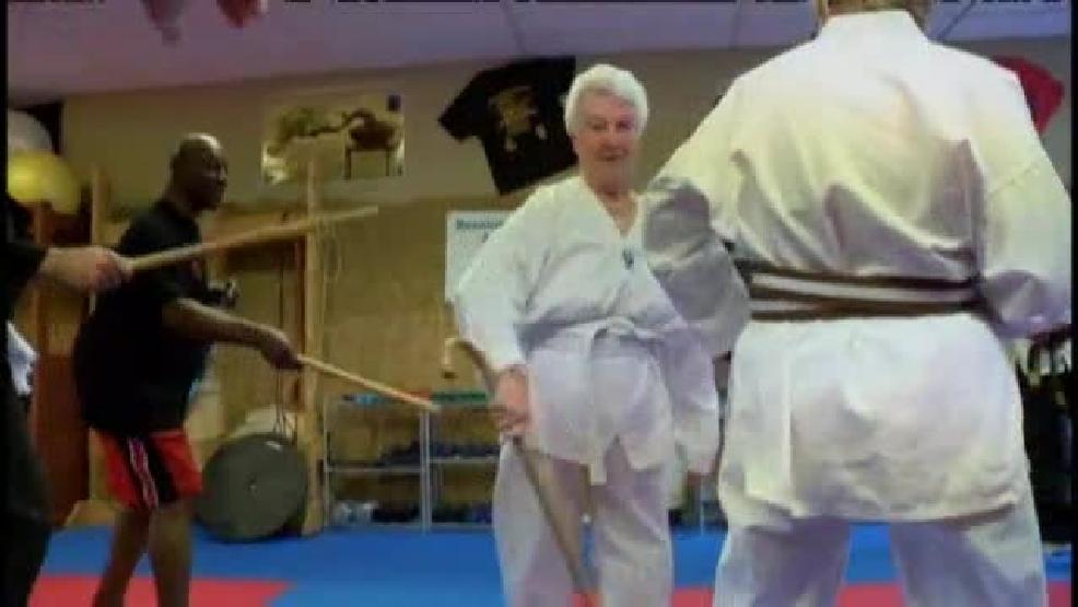 Florida Seniors Learn Cane Fu As Defense Keye