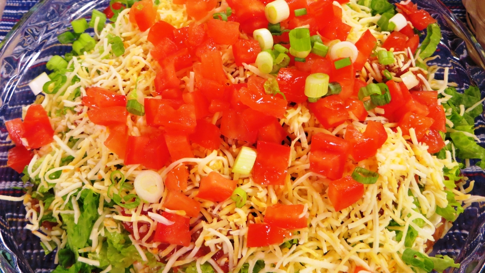 8 Layered Mexican Dip