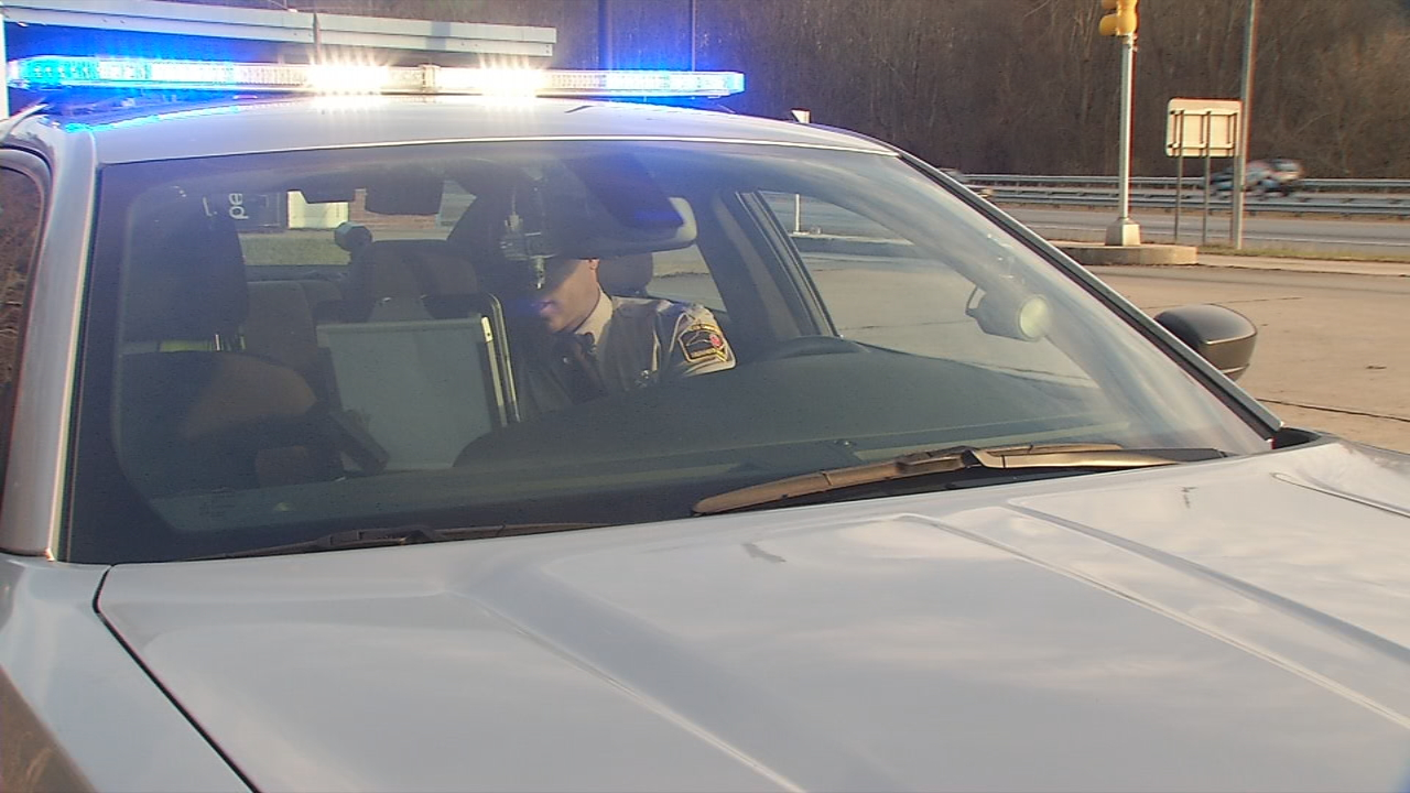 North Carolina driver's education students will have more reading to do starting Monday. The new material is information about getting pulled over. (Photo credit: WLOS staff)