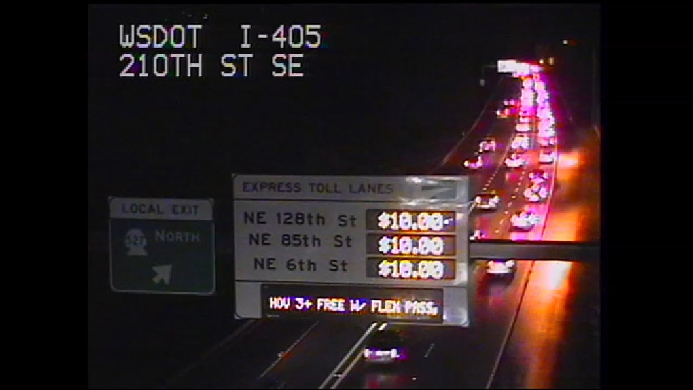 Republican lawmaker aiming for I-405 toll lane fixes