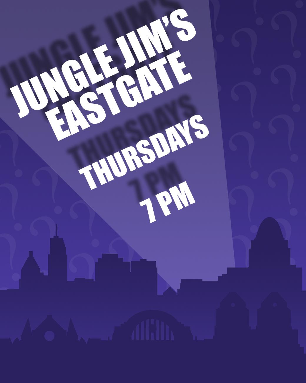 Jungle Jims in Eastgate has trivia every Thursday starting at 7 PM. ADDRESS: 4450 Eastgate South Drive (45245) / Image: Phil Armstrong, Cincinnati Refined // Published: 8.30.17