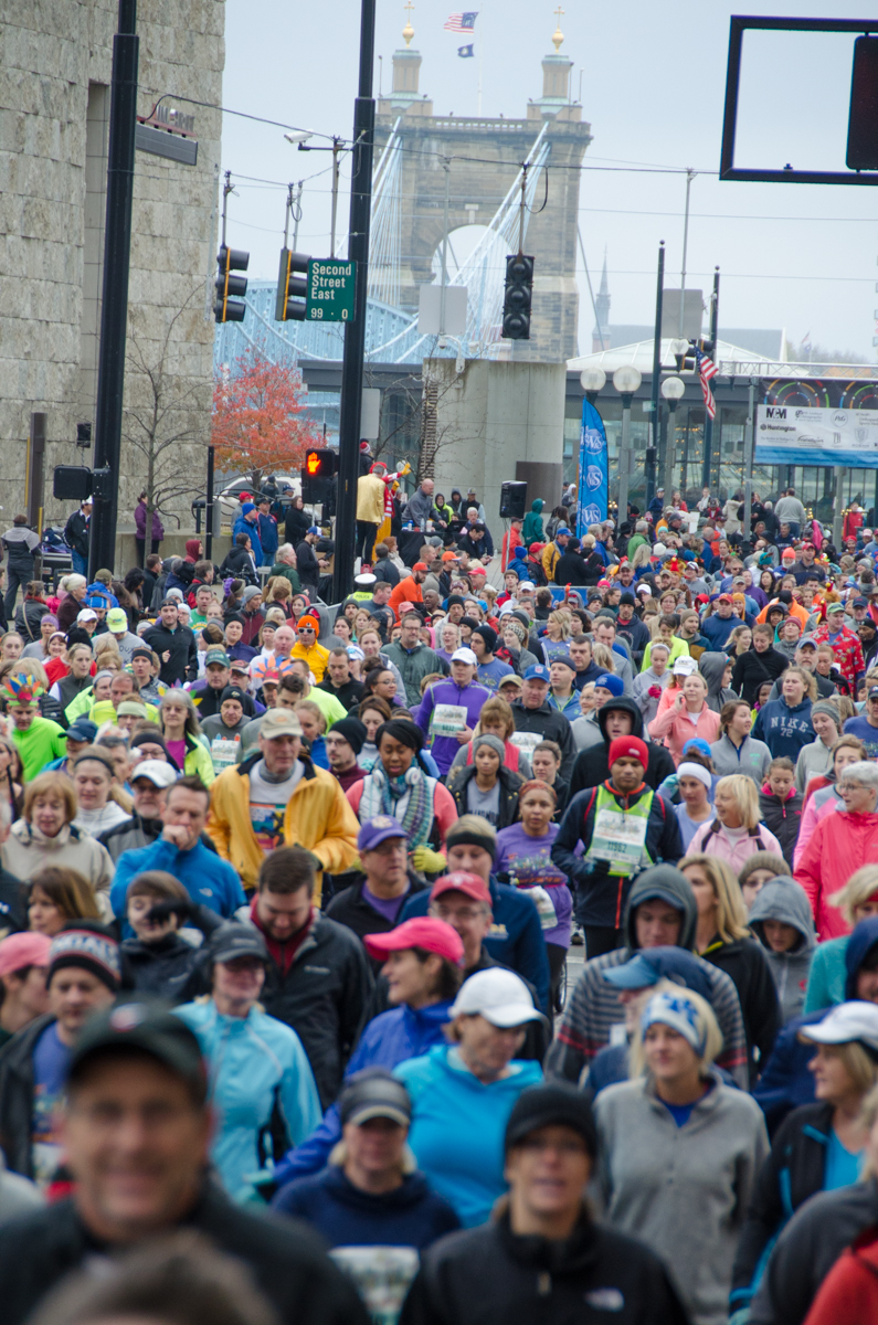The 107th Western & Southern Thanksgiving Day 10K Run & Walk was held Thursday, Nov. 24, 2016. / Image: Sherry Lachelle Photography // Published: 11.25.16