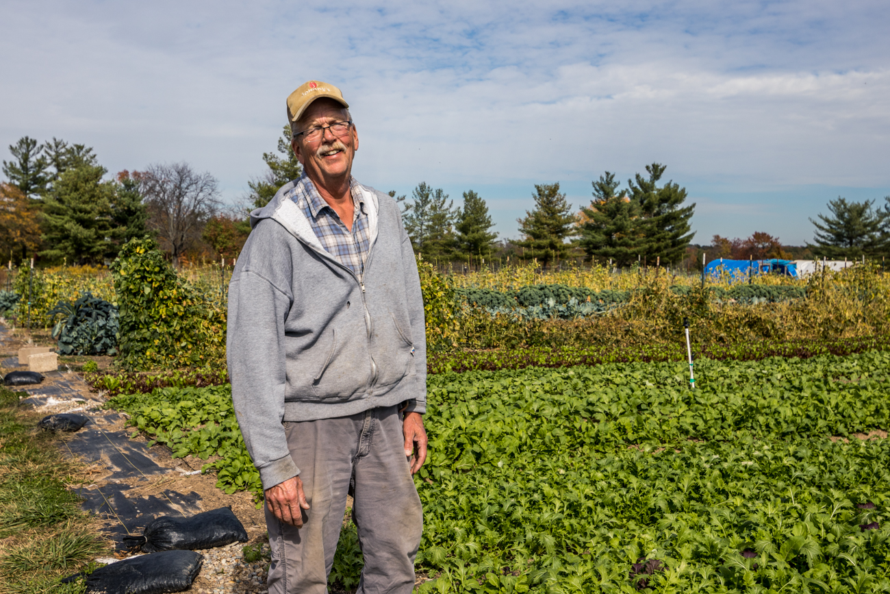 Steve, farm manager / Image: Catherine Viox{ }// Published: 11.5.20