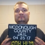 McDonough County man arrested for theft of a vehicle