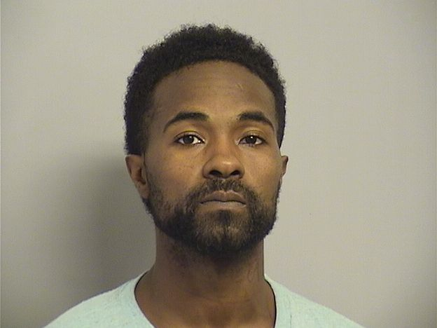 Robert Gray was arrested on complaints of possession of stolen vehicle AFCF and alteration of a VIN number AFCF.{ } (Tulsa County Jail Aug. 10, 2019)