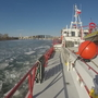 DC Fire's boat breaks ice as only vessel navigating the Potomac