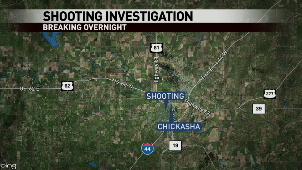 One person was shot, while riding a bike
