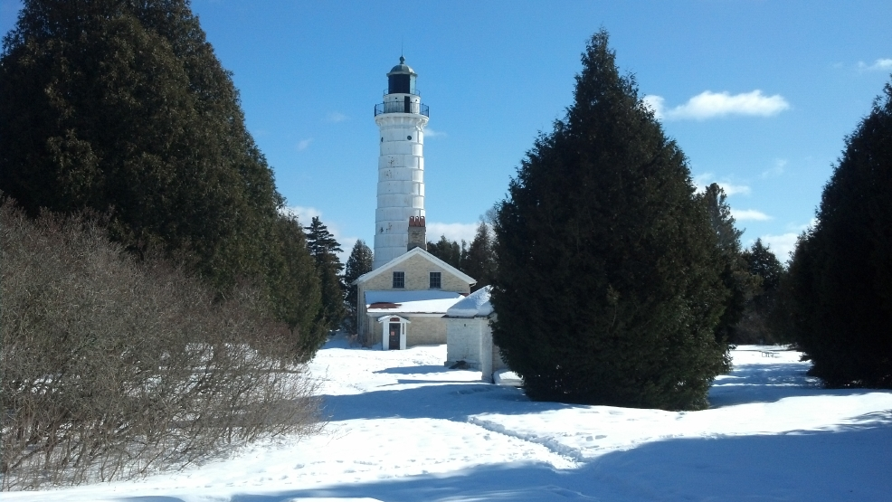 The Cana Island Light Station renovation project begins this spring.