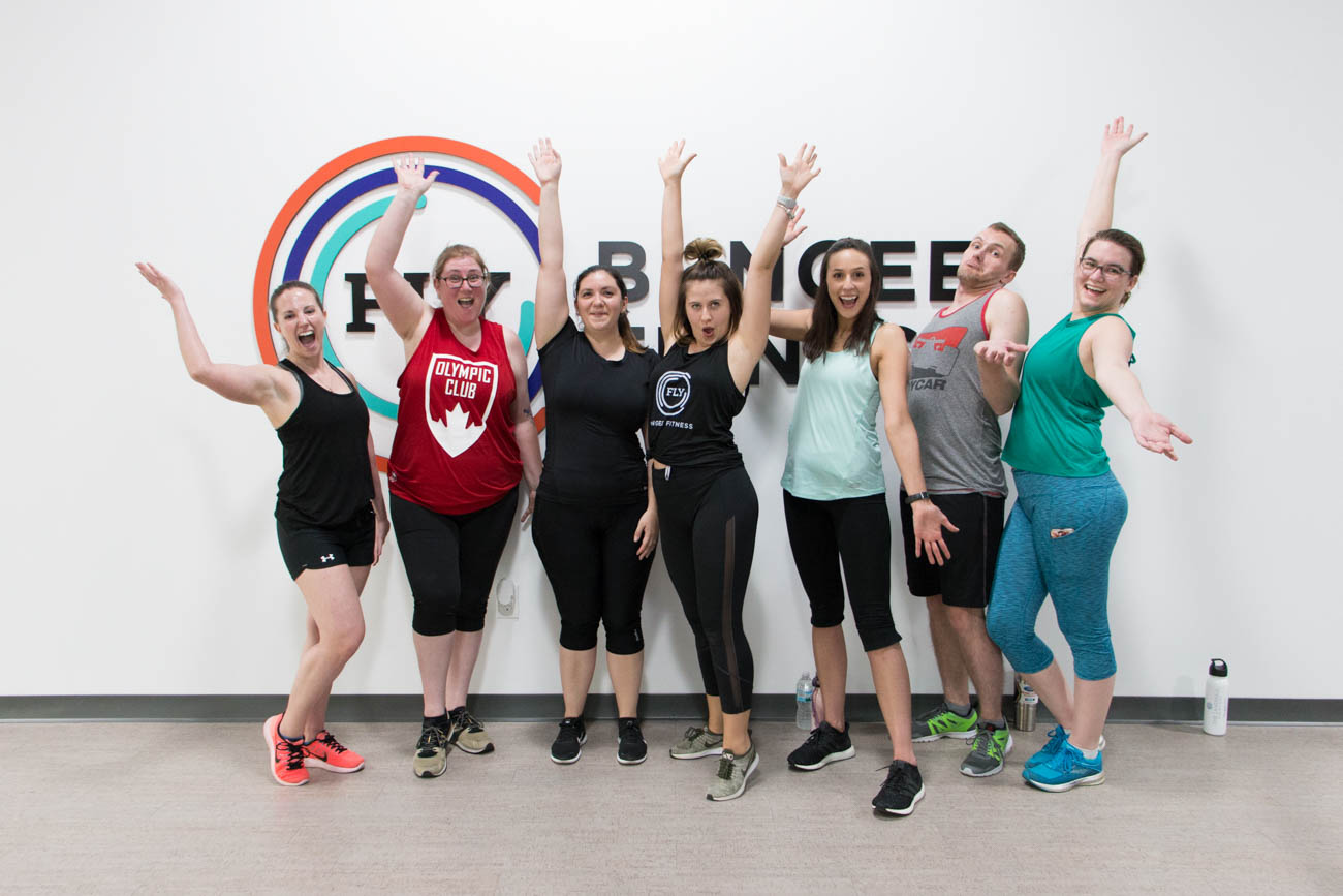 All classes are an hour and can be purchased on their website, www.flybungeefitness.com. Single classes are $25, and new clients earn a BOGO free offer. Class bundles are also available for those interested in multiple classes at a discounted rate. / Image: Lacey Keith // Published: 7.17.19