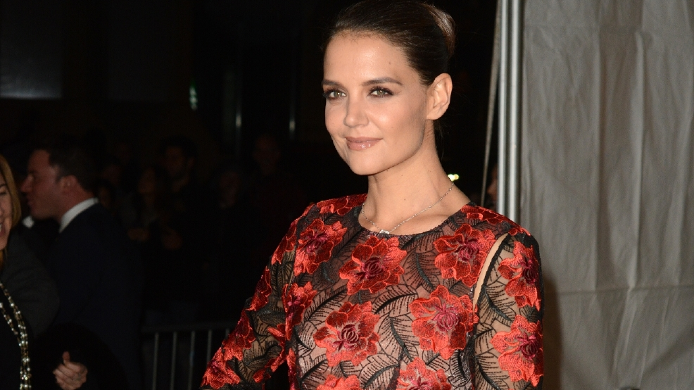 Katie Holmes sets herself a motherhood curfew on nights out