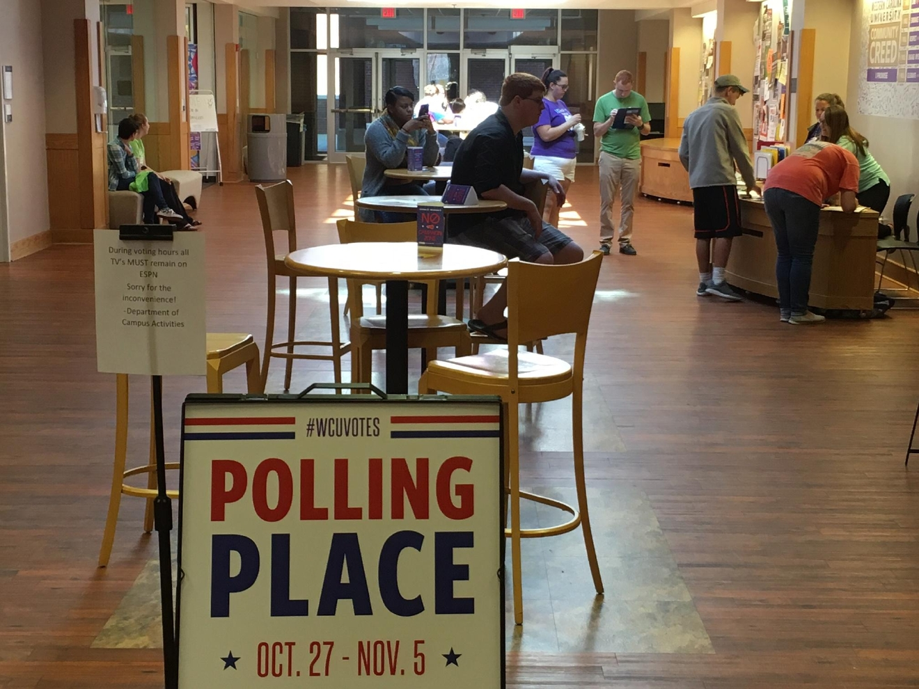 News 13 wondered whether these last minute election surprises, like  more investigation into Hillary Clinton's emails and Sen. Burr's comments about Clinton, have an impact on voters. News 13 took the question to a political science professor at Western Carolina University. (Photo credit: WLOS staff)