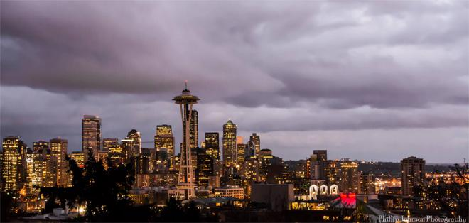 Classic Seattle clouds as Winter ends and Spring begins. Photo: Phillip Johnson