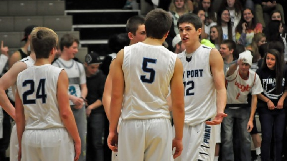 Bay Port received a No. 1 seed in the Division 1 boys basketball bracket. (Doug Ritchay/WLUK)