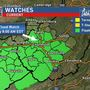 Flash flood watch, severe thunderstorm watch in effect for much of West Virginia
