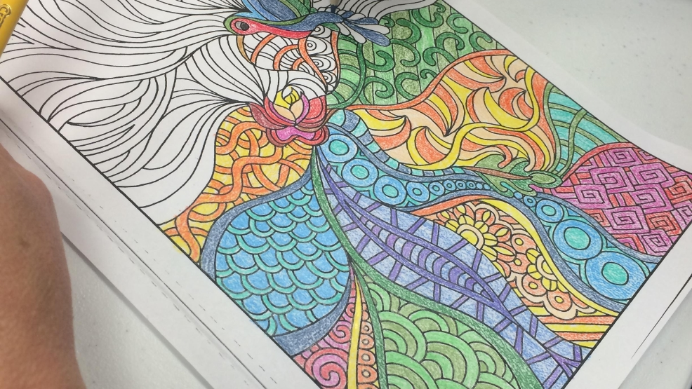 New Adult Coloring Club In Myrtle Beach Aims To Help Relieve Stress