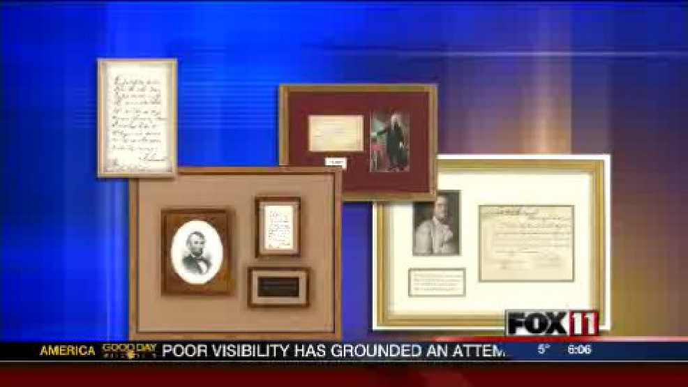 Historical documents stolen in Brookfield